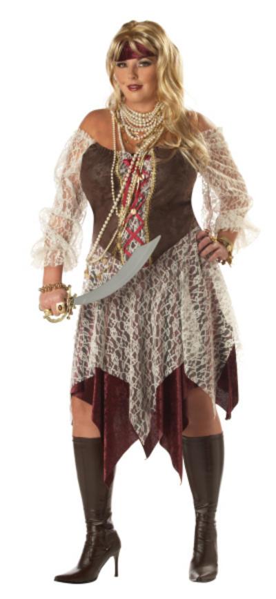 Plus Size South Seas Siren Pirate Costume