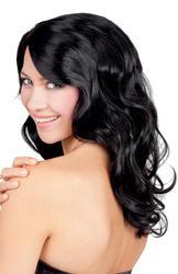 Black Celebrity Wig Costume Accessory