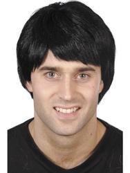 Black Wig Costume Accessory
