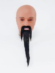 Black Wizard Beard and Tash Set Costume Accessory
