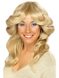 Blonde Flick Wig Costume Accessory