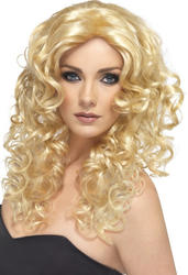 Blonde Glamour Wig Costume Accessory