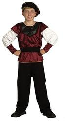 Renaissance Prince Boys Fancy Dress Medieval Tudor Book Day Childs Kids Costume