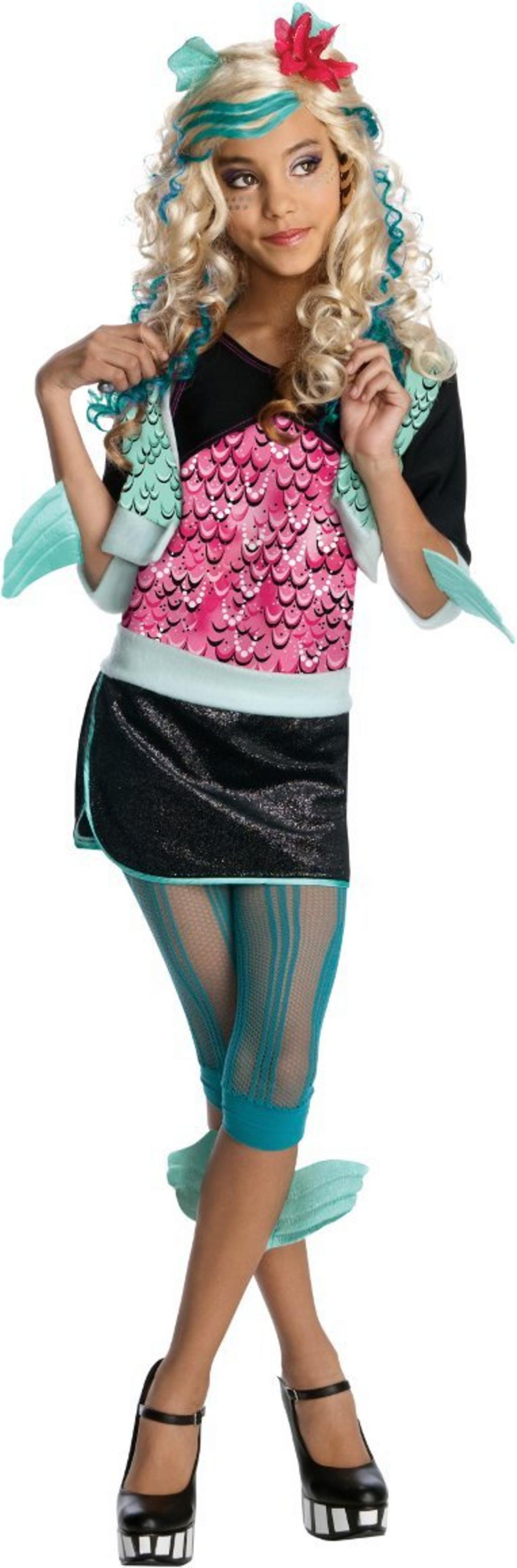 girl's lagoona blue monster high costume | all halloween | mega