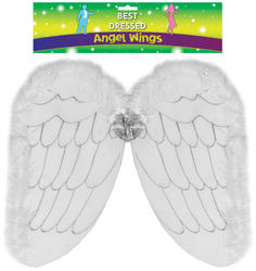 Childs Angel Wings Costume Accessory