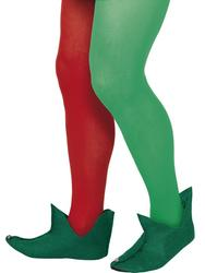 Christmas Elf Boots Costume Accessory
