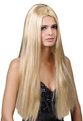 Classic Long Blonde Wig Costume Accessory