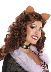 Clawdeen Wolf Wig Costume Accessory