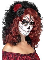 Day of the Dead Women's Wig Costume Accessory