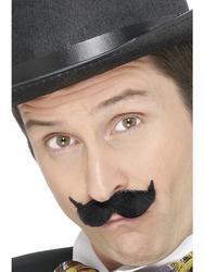 Edwardian Black Moustache Costume Accessory