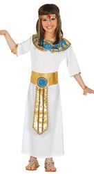 Egyptian Queen Girls Fancy Dress Cleopatra Ancient Egypt Goddess Kids Costume
