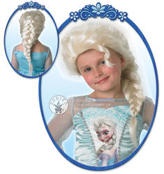 Elsa Snow Queen Wig Costume Accessory