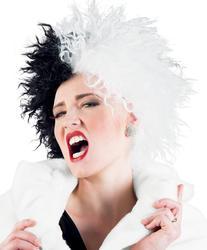 Evil Madam Wig Costume Accessory