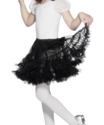 Girls Layered Black Petticoat Costume Accessory