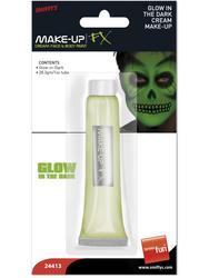 Glo-in-Dark Cream Make Up Costume Accessory