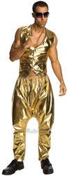 Gold MC Trousers Costume Accessory