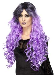 Gothic Glamour Curly Wig Adult Women's Halloween Costume Accessory
