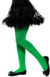 Green Opaque Tights Costume Accessory
