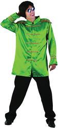 Green Sgt Pepper Adults Jacket Costume Accessory
