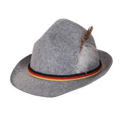 Grey Oktoberfest Hat Costume Accessory