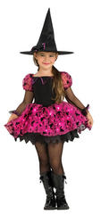 Girl's Moonlight Magic Witch Halloween Costume.