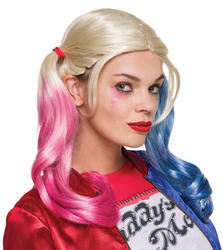 Harley Quinn Suicide Squad Women's Wig Costume Accessory