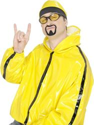 Herb Warrior Rapper Moustache & Goatee Costume Accessory