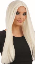 Long Glow In The Dark Women's  Wig Costume Accessory