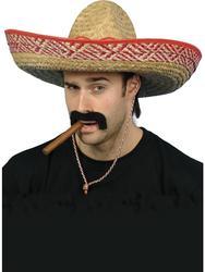Mexican Sombrero Hat Costume Accessory