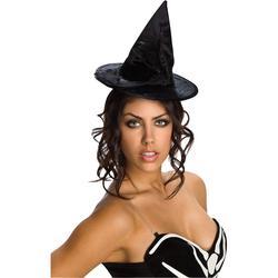 Mini Velour Witch Hat Costume Accessory