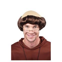 Monk Wig Costume Accessory
