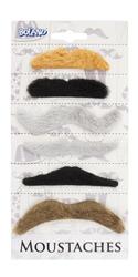 Natural Moustache Set Costume Accessory