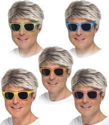 Neon Sunglasses (Assorted Colours) Costume Accessory