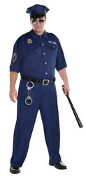 On Patrol Plus Size Police Officer Costume