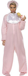 Pink Baby Romper Suit Costume