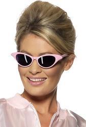 Pink Rock N Roll Sunglasses Costume Accessory