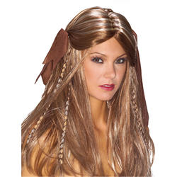 Pirate Wench Wig Costume Accessory
