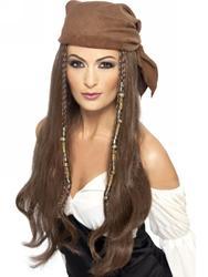 Pirate Women's Wig Costume Accessory