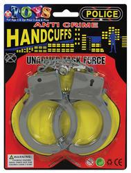 Plastic Handcuffs Costume Accessory