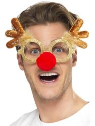 Reindeer Comedy Specs Costume Accessory