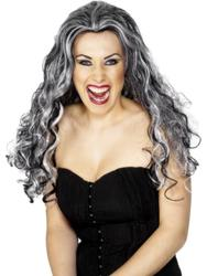 Renaissance Vamp Wig Costume Accessory