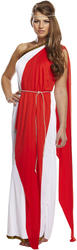 Roman Red Lady Costume