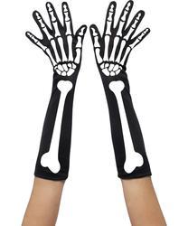 Skeleton Gloves Costume Accessory
