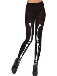 Skeleton Tights Costume Accessory