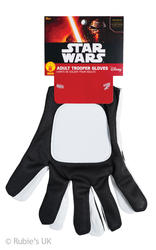 Stormtrooper The Force Awakens Star Wars Gloves Costume Accessory