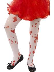 Tights with Blood Stain Girls Accessory Costume Accessory