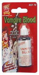 Vampire Blood In a Bottle Costume Accessory