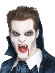 Vampire Fangs With Adhesive Costume Accessory