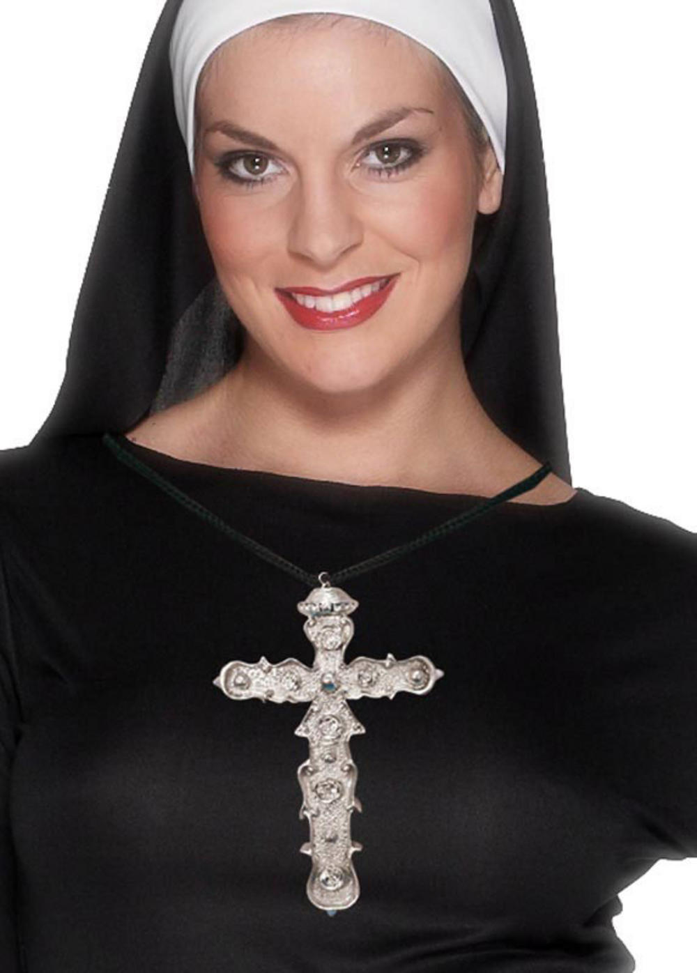 Nun Cross Necklace