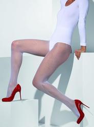 White Fishnet Tights Costume Accessory
